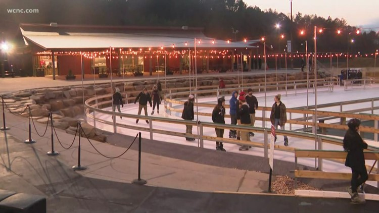 Ice skating and lights opening at the Whitewater Center