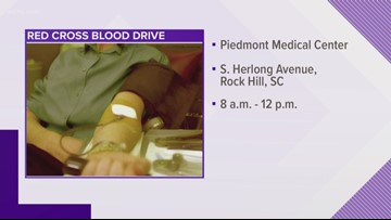 Red Cross in need of blood donations