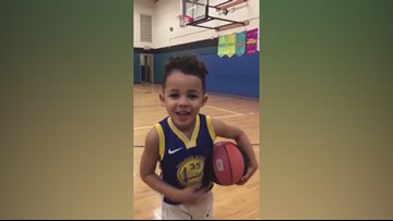 RAW: Charlotte 3-year-old calls out Kevin Durant