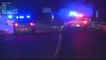 Pedestrian hit by vehicle on I-85 ramp near UNC Charlotte