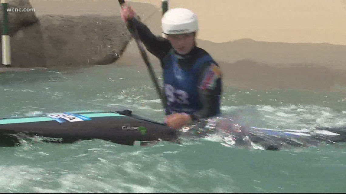 NC teenager qualifies for Tokyo Olympics