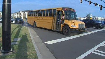 Parents worried about dangerous bus stop, asking for CMS to step in