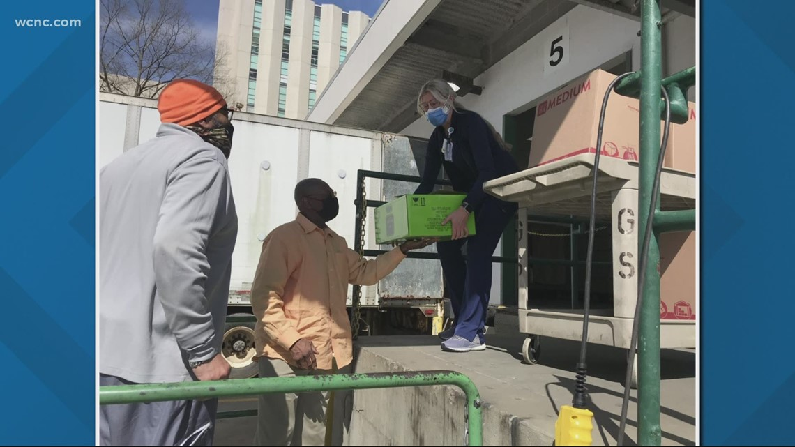 Giving Back to the Front Line: Charlotte catering company delivers barbecue to Atrium Health
