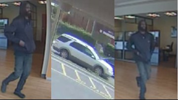 Deputies searching for Harrisburg bank robbery suspect