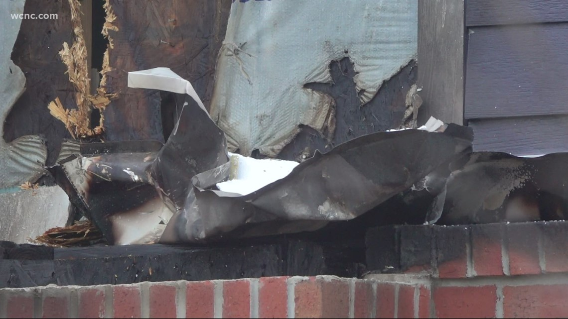 Charlotte Fire responds to two residential fires Saturday morning