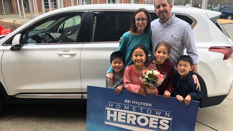 Rock Hill teacher surprised with brand new car