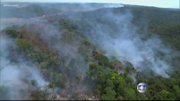 Amazon Rainforest wildfires have been burning for weeks