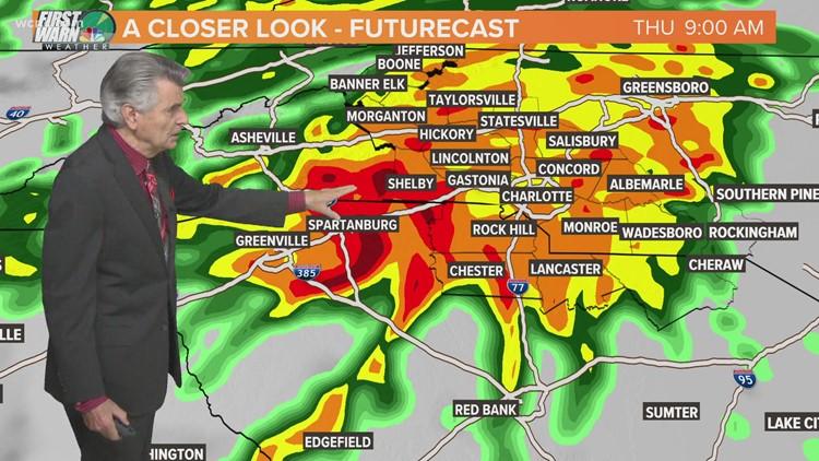 Zeta to bring heavy rain, gusty winds to Carolinas