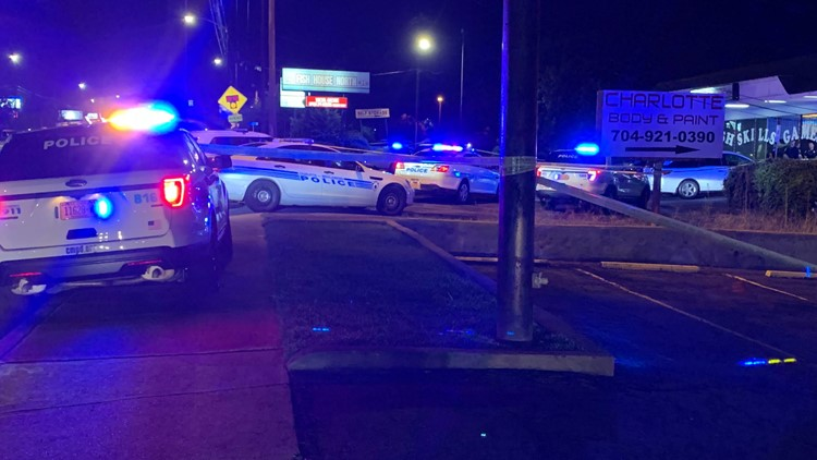 CMPD responds to scene after 3 people taken to hospital with life-threatening injuries