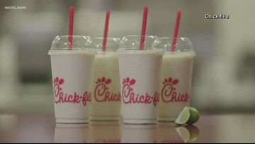 Chick-fil-A debuts its new Frosted Key Lime drink