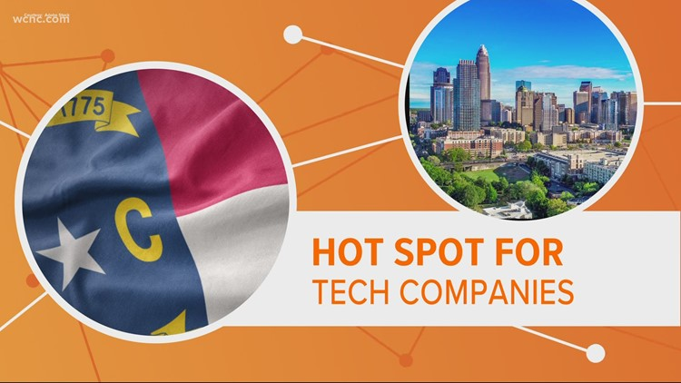 Why Charlotte is becoming a major US tech hub