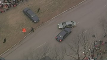 Police chase breaks out on Kansas City Chiefs Super Bowl parade route