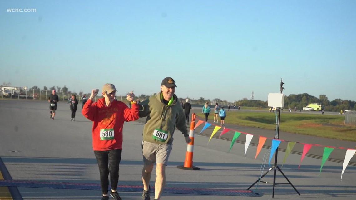 Hundreds run in Runway 5K at CLT