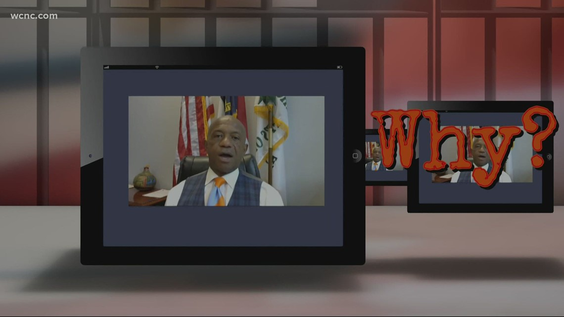 Mecklenburg County inmates given tablets, can message family, listen to music and watch movies