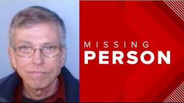 Desperate search underway to find missing man with dementia