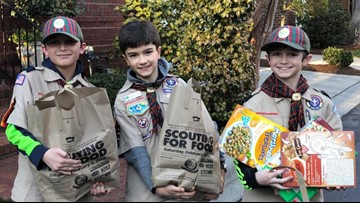 Scouting for Food drive raises over 250,000 pounds of food for those in need