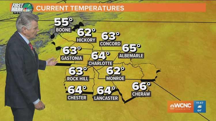 Sunny and pleasant Thursday afternoon