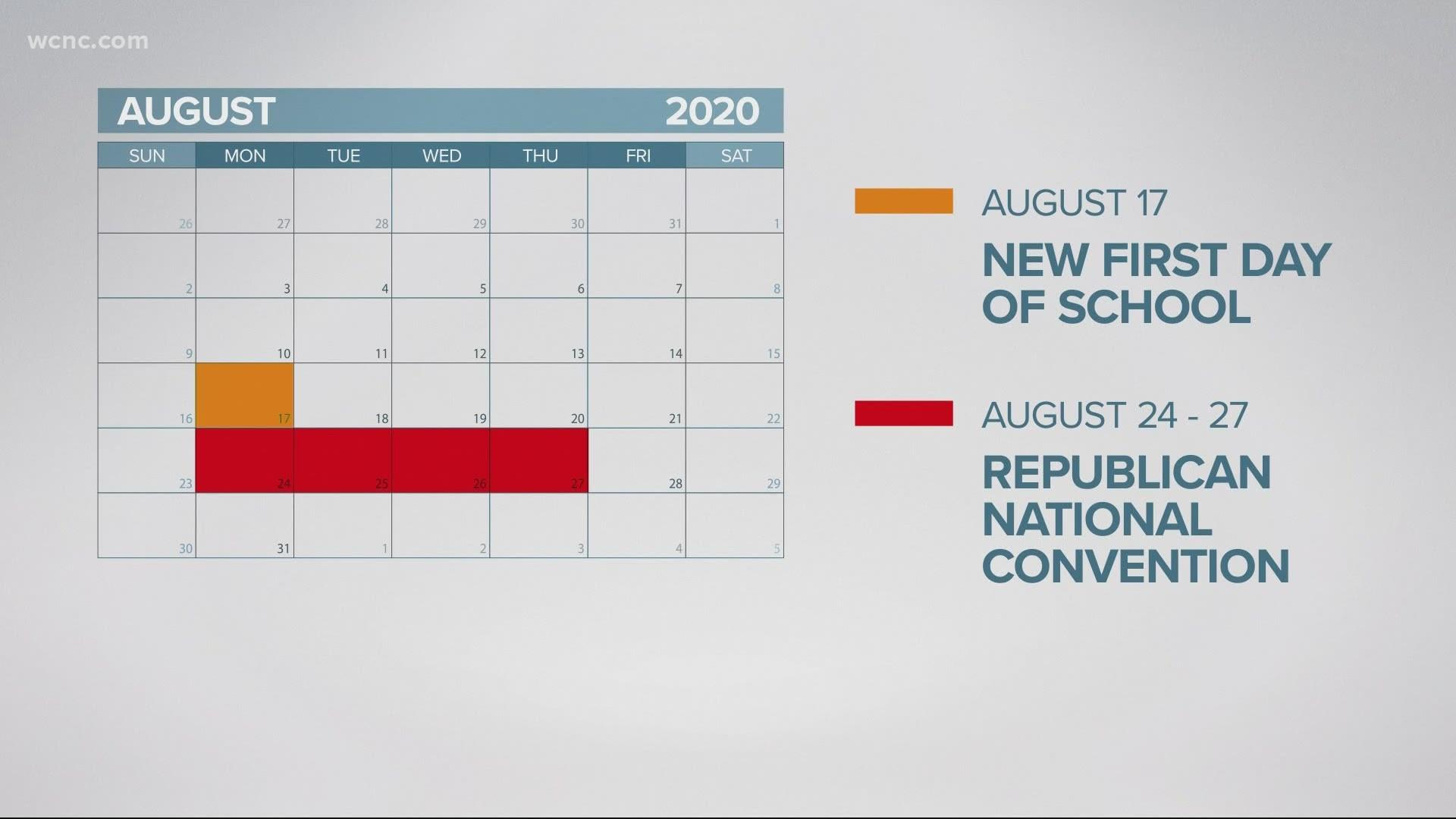 Cms 2021 And 2019 Calendar CMS announces schedule changes for 2020 21 academic calendar