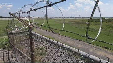 Charlotte Douglas airport to increase height of perimeter fence