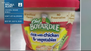 Chef Boyardee bowls recalled because they're mislabeled