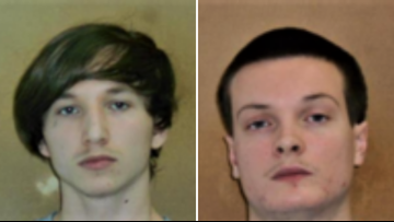 Inmates found hiding in a crawlspace of a Hamlet home after escaping NC prison Monday