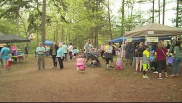 Hundreds enjoy Mint Hill Easter Eggstravaganza despite rain