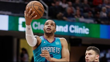 Hornets keep playoff hopes alive with 124-97 win over Cleveland
