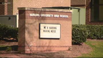 Police respond after reports of crowd fighting at Harding University High