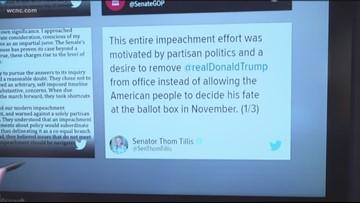 Senate votes to acquit President Trump on articles of impeachment
