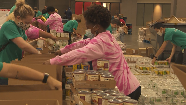 Food drive to feed thousands of families