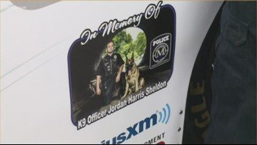 NASCAR community unites to honor fallen Mooresville Officer Jordan Sheldon