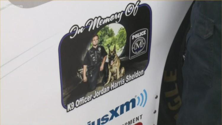 NASCAR community honoring fallen Mooresville officer Jordan Sheldon