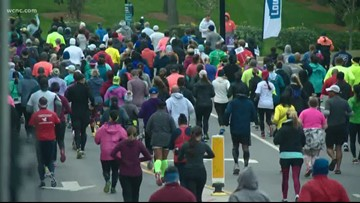 Thousands compete in annual Charlotte marathon