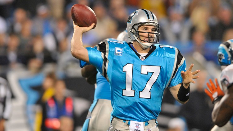 Jake Delhomme Panthers 2009