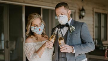 Love in the time of coronavirus: Huntersville couple says 'I do' on Zoom
