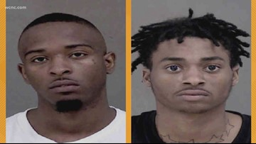 Suspects in custody after leading police in high-speed chase during Charlotte rush house