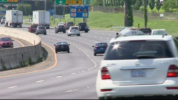 Dorian evacuees leave Charlotte to go home