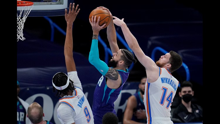 Jalen McDaniels sets career high in Hornets win