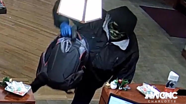 'Too Tall Bandit' responsible for 16 bank robberies in NC, SC and TN strikes again