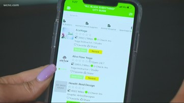 Charlotte entrepreneur creates app to help connect black-owned business
