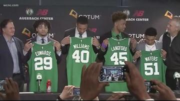 Providence Day grad introduced by Boston Celtics