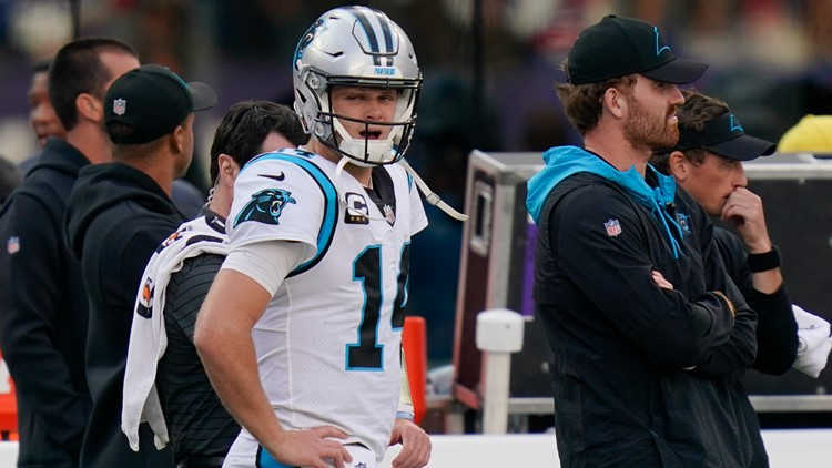 Darnold benched as Panthers lose fourth-straight game