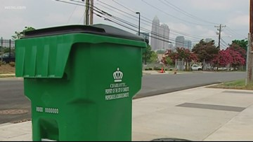 Nearly one-third of homes in these Charlotte neighborhoods don't recycle
