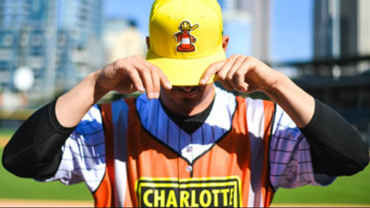 Charlotte Knights become Traffic Cones on August 20