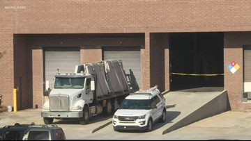 Customer killed by falling stone at southwest Charlotte business