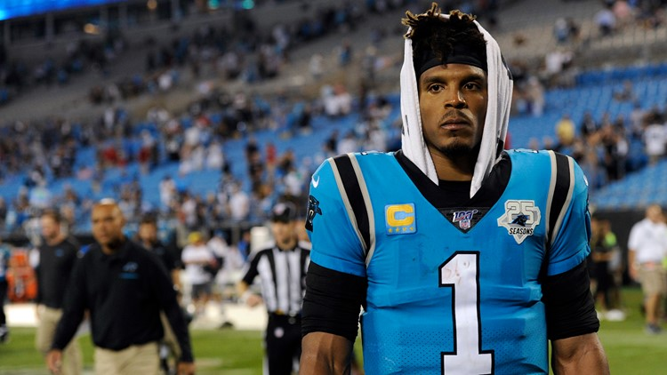 Cam Newton re-aggravates foot injury, misses practice