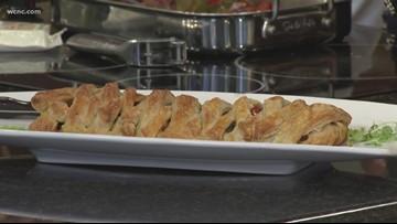 Recipe: Vegetable pesto pastry