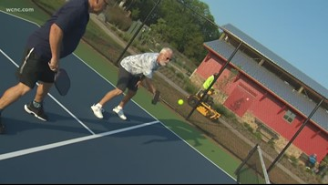 Pickleball enthusiasts say the sport is going to take over Charlotte