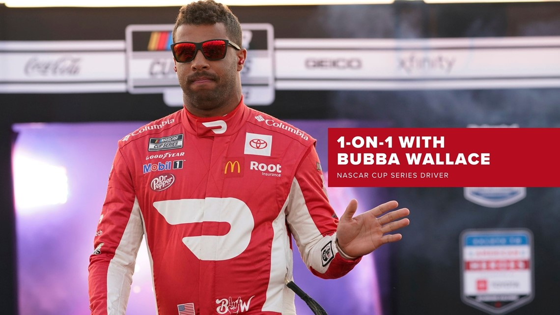 Full Circle: 1-on-1 with NASCAR Cup Series driver Bubba Wallace