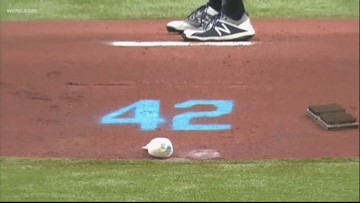 Charlotte Knights honor Jackie Robinson